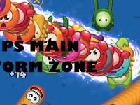 5 Cara Main Cacing Worm Zone Cepat Besar dan Tidak Cepat Mati