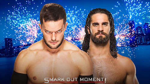 WWE SummerSlam Finn Balor vs Seth Rollins Universal Title Match
