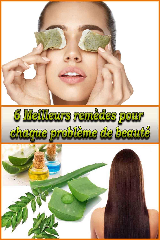Meilleurs remèdes pour chaque problème de beauté