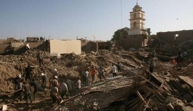 Video de Pisco-Perú post-sismo