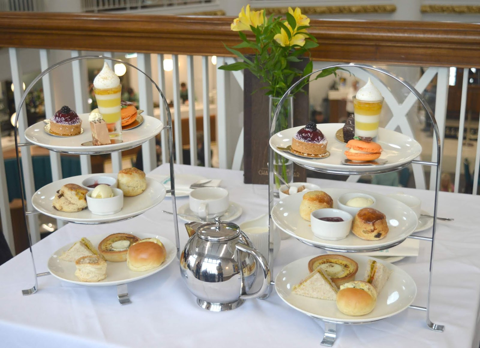 Guide to Spanish City, Whitley Bay - Afternoon Tea