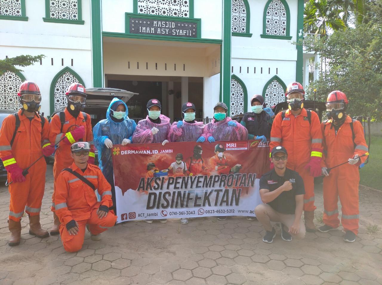 Bersama UMKM, ACT Jambi laksanakan Operasi Pangan Gratis di RSUD Raden Mattaher