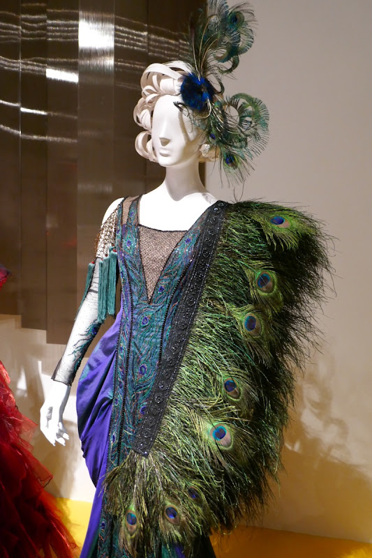 Colette Marchant Dumbo peacock feather costume