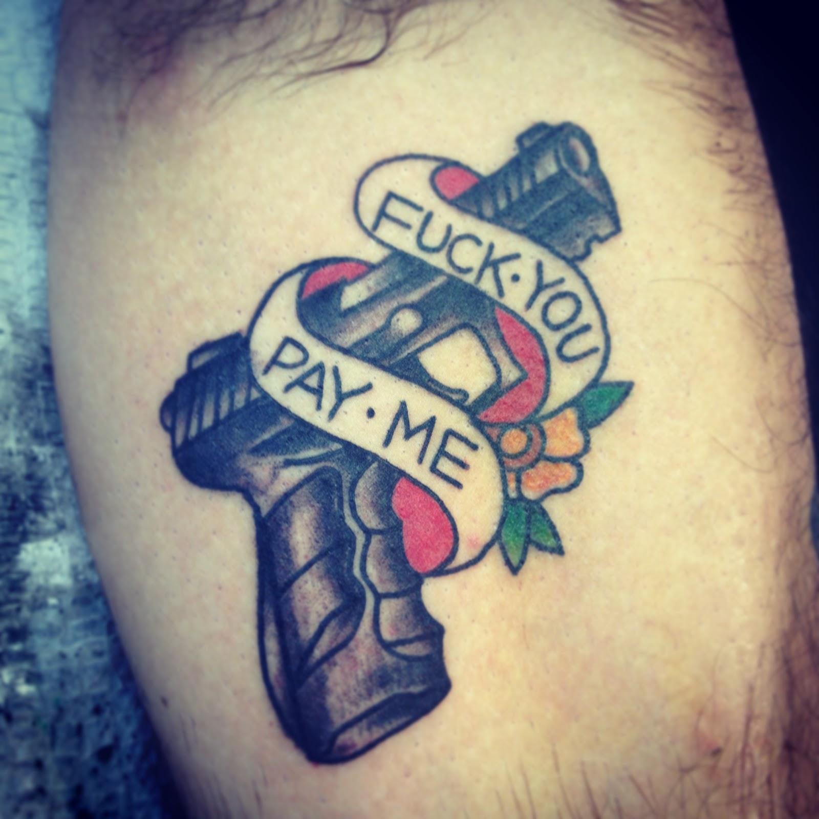 Fuck You Tattoo 20