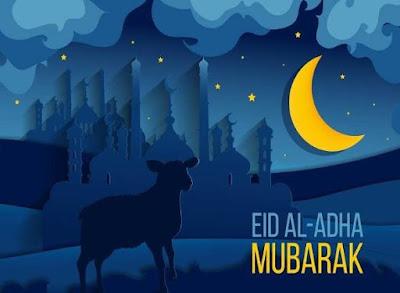 Eid al-Adha (bakra eid) image shayari eid mubarak wallpaper