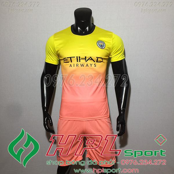 Áo câu lạc bộ Man City màu vàng 2020