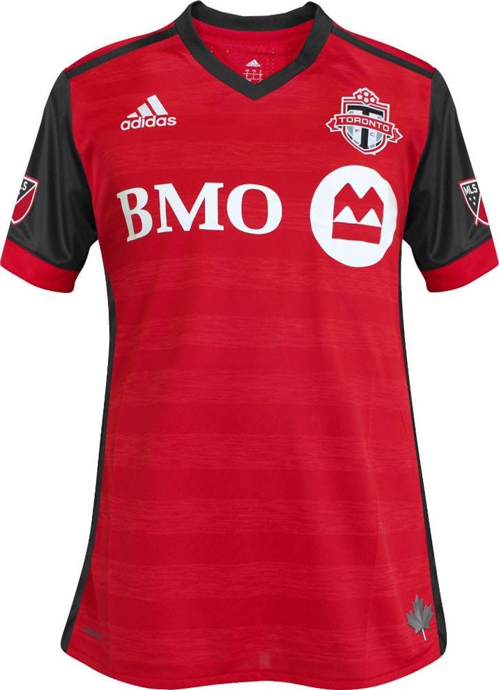 daafb460a17744 Voici le tout nouveau maillot domicile du Toronto FC pour la saison 2017,  fabriqué par Adidas.