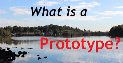 River with what is a prototype text