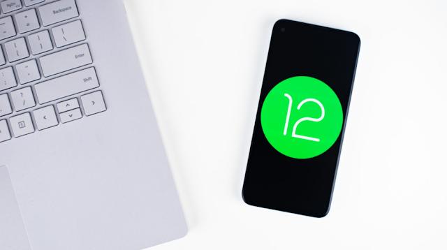 Foto stok Android 12 6