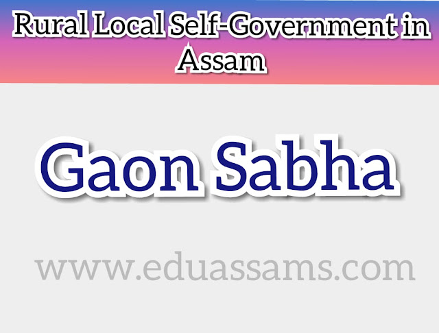 assam panchayati raj act 1994, gaon panchayat in assam consists of how many members, how many gaon panchayat in assam 2019, Local self-government in Assam, pdf assam panchayat, Gaon Sabhs,