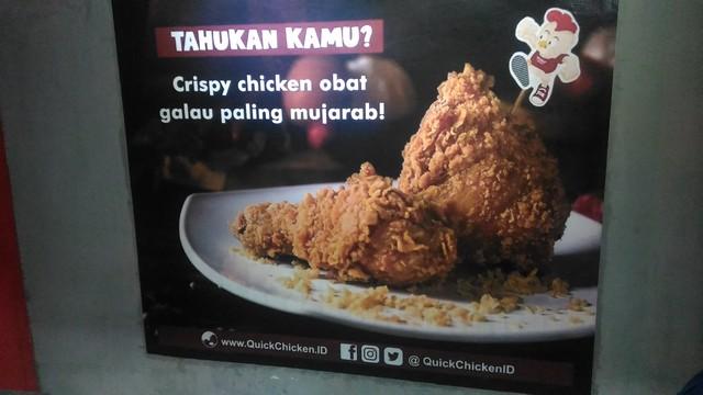 Dibalik Suksesnya Quick Chicken