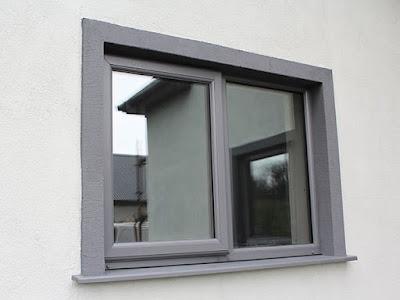 PVC prozori u sivoj boji