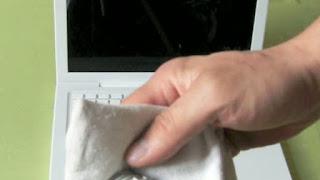 Nettoyer un écran d'ordinateur