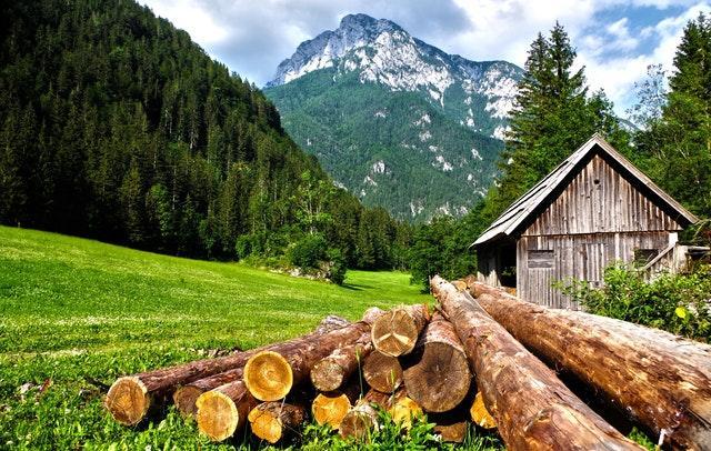 breathtaking Julian Alps in Slovenia