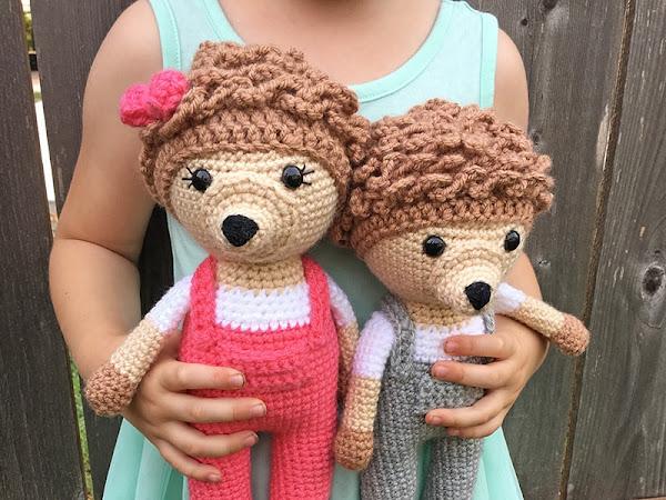 Amigurumi Hedgehogs - A Free Crochet Tutorial