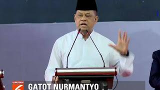 Gatot Beberkan Alasan Dicopot dari Panglima TNI; Diminta Orang PDIP untuk Setop Instruksi Nonton Film PKI