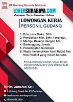 Lowongan Kerja Surabaya di PT. Benteng Persada Multindo Agustus 2020