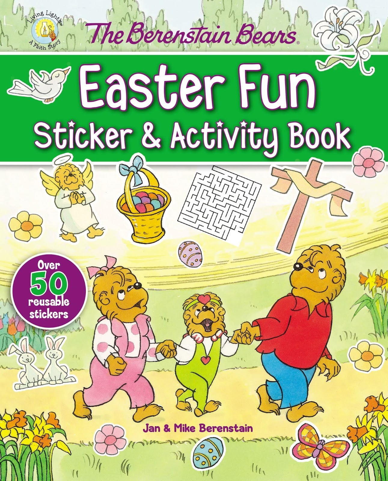 Syncopated Mama The Berenstain Bears Easter Fun Sticker