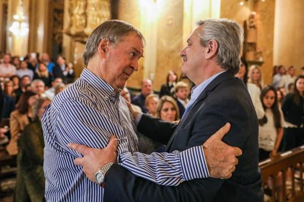 Sorpresiva reunión entre Alberto Fernández y Juan Schiaretti en Córdoba