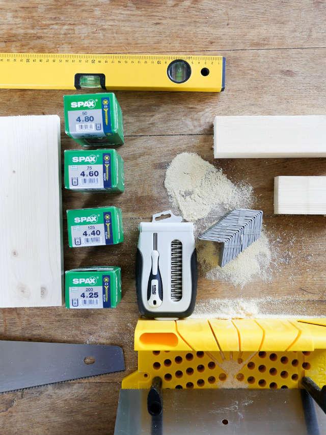 diy como hacer una pared de madera como cabecero de cama: materiales