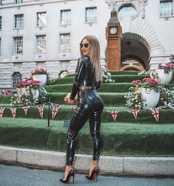 CJ Lana Perry Clicks in Black Leather – Instagram Photos 30 Oct-2019