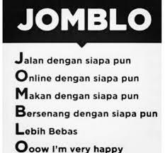 Apakah arti Jomlo menurut ABG?