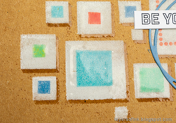 Layers of ink - Shadow Stenciling and Stamping Tutorial by Anna-Karin Evaldsson.