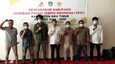 Arfan Hermawan Terpilih Aklamasi Ketua FPTI OKU Timur Periode 2021 - 2025