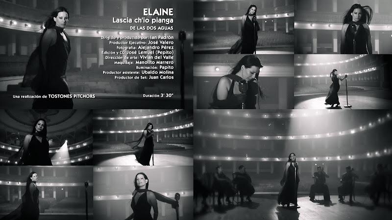 Elaine De Valero - ¨Lascia ch'io pianga¨ - Videoclip - Dirección: Ian Padrón. Portal Del Vídeo Clip Cubano
