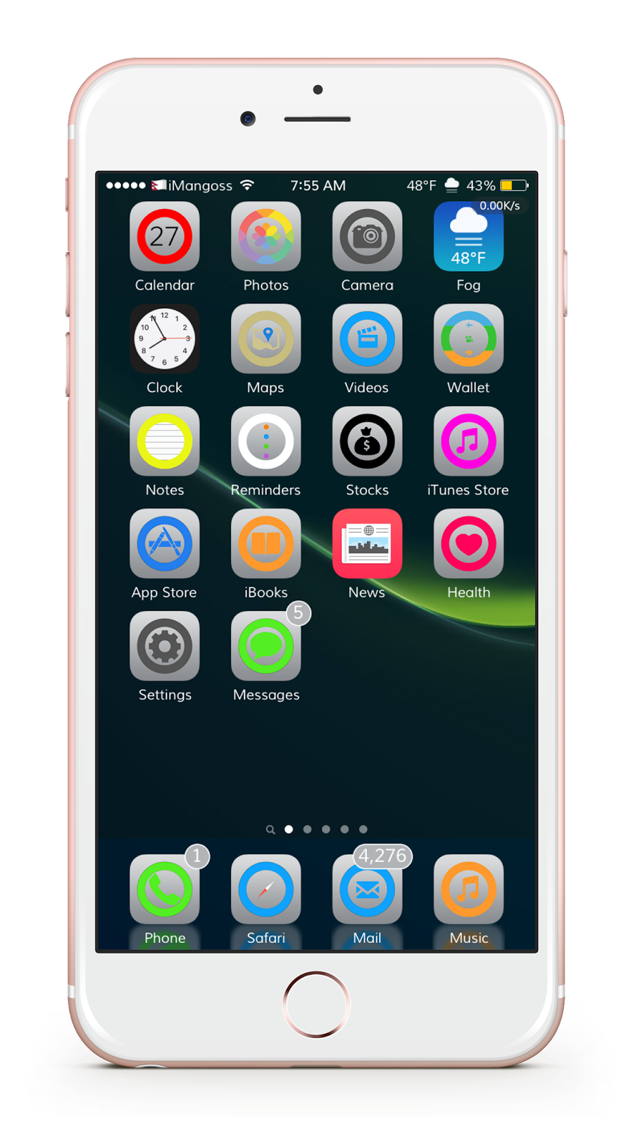Best iOS themes for iPhone, iPad and iPod touch - iMangoss
