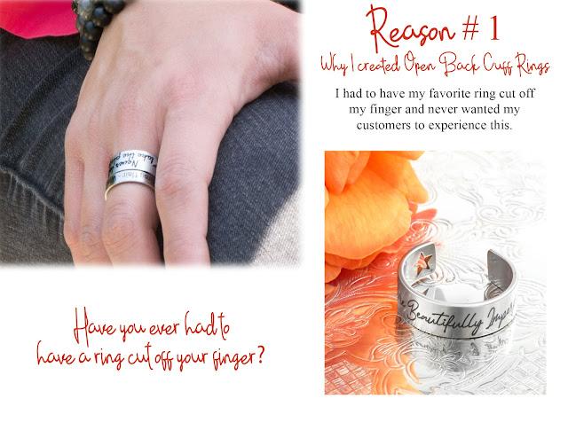 open back cuff rings