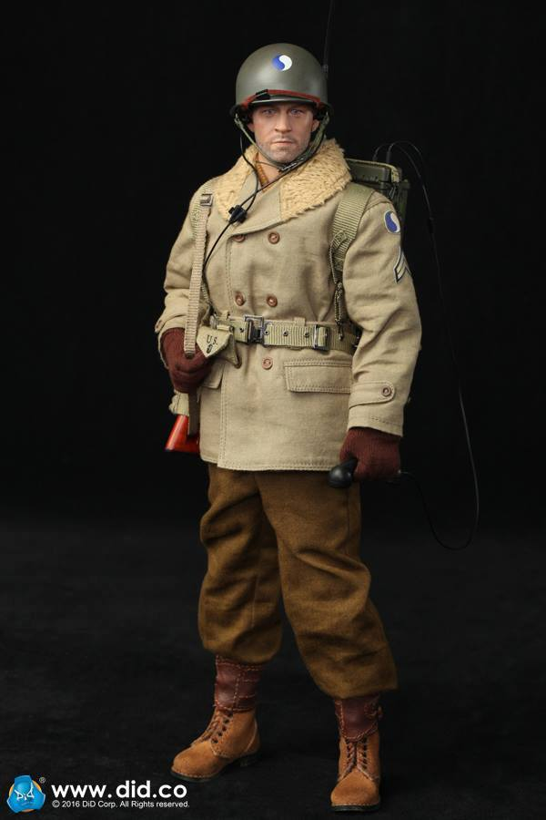 DID 1//6 scale WWII U.S 29th Infantry Division Radio Operator Paul Head