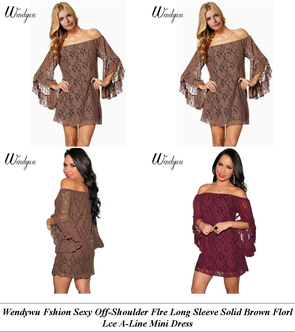 Semi Formal Dresses For Women - Clearance Sale Near Me - Night Dress - Cheap Designer Clothes Womens