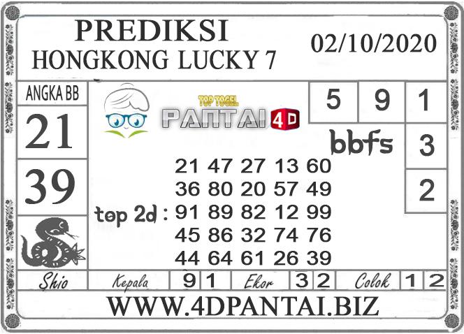 PREDIKSI TOGEL HONGKONG LUCKY 7 PANTAI4D 02 OKTOBER 2020