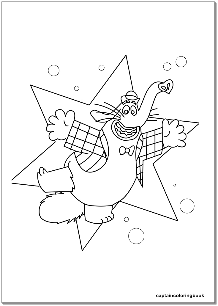 inside out coloring pages fritz  fear  bing bong  joy