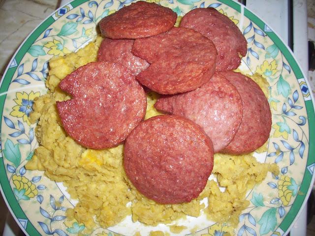 Receta Mangú O Puré Dominicano De Plátano Verde Dominican Food