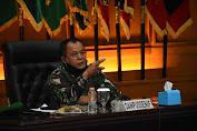 Danpusennif Letjend TNI Besar Harto Karyawan Pimpin Acara Paparan Buku Pedoman Meningkatkam Kemampuan Dasar Prajurit Infanteri