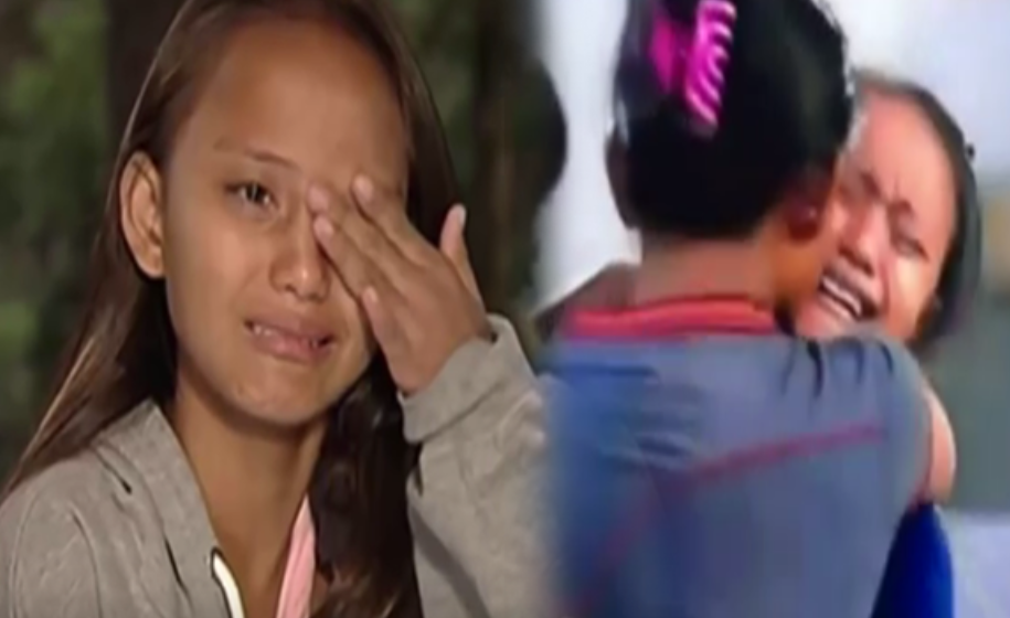 family reunion of badjao girl inside pbb house