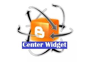 Cara Mengatur Posisi Widget Berada di Tengah atau Center
