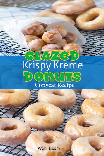Glazed Krispy Kreme Donuts Copycat Recipe