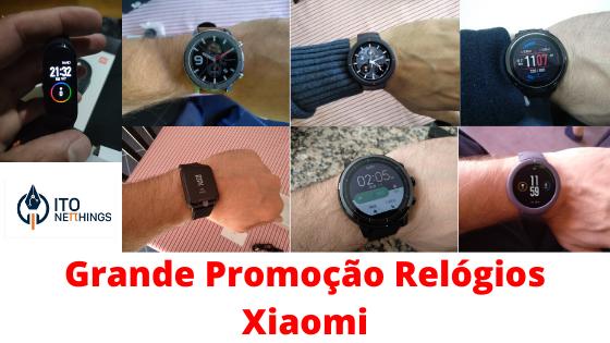 Preços Loucos nos Relógios Inteligentes da Xiaomi