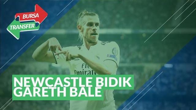 Newcastle United Tertarik Gareth Bale