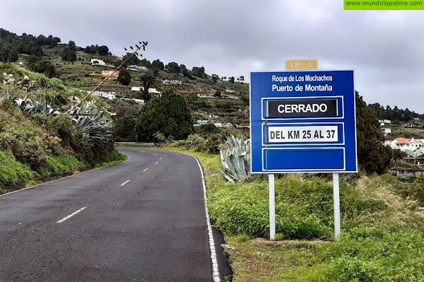 El Cabildo abre la carretera del Roque hasta el Pico de La Nieve