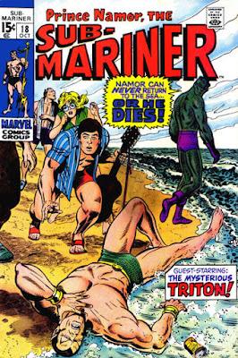 Sub-Mariner #18, Triton