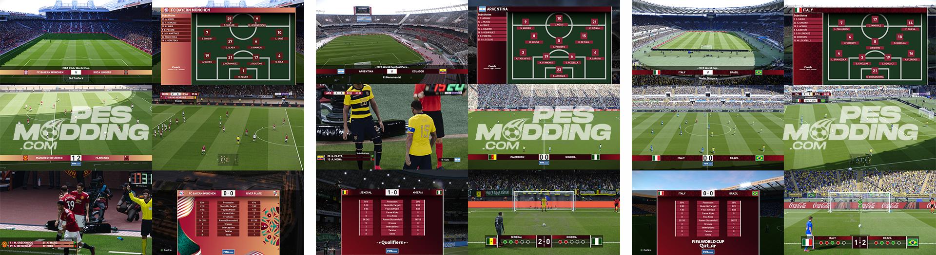PES 2021 FIFA Scoreboard Pack