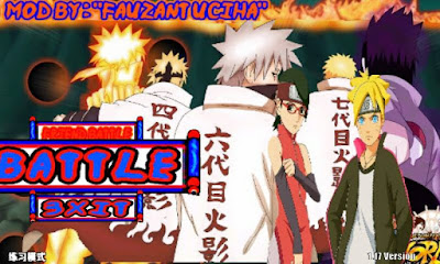 Download Naruto Senki MOD Full Characters Uchiha Apk Game Narsen Terbaru