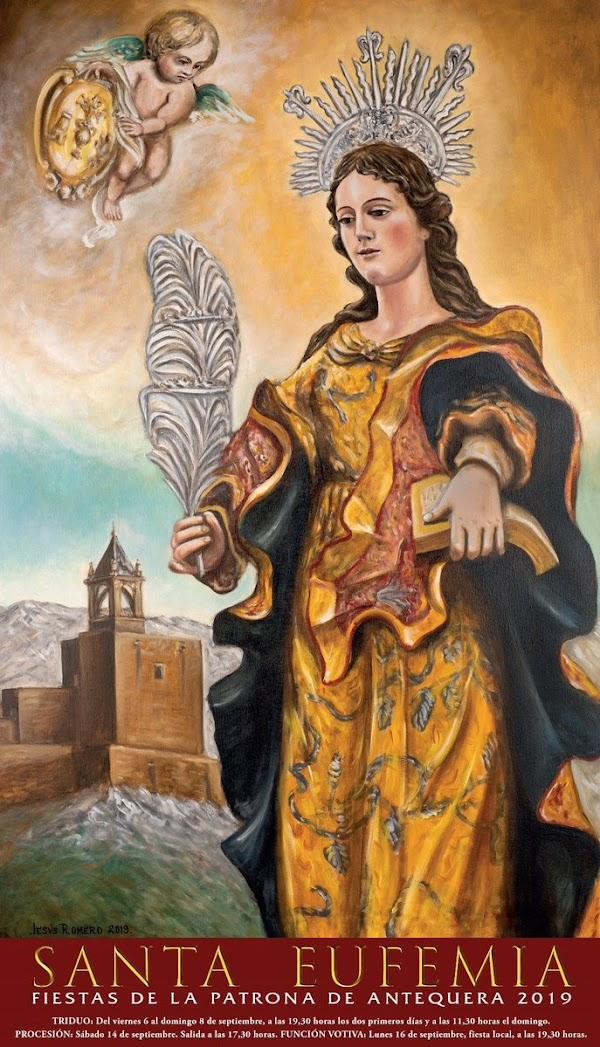 El Cartel de Santa Eufemia de 2019 de Antequera