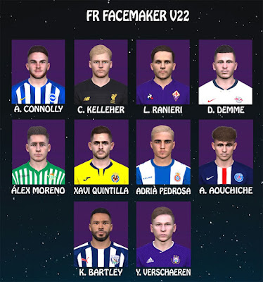 PES 2017 Facepack V22 by FR Facemaker