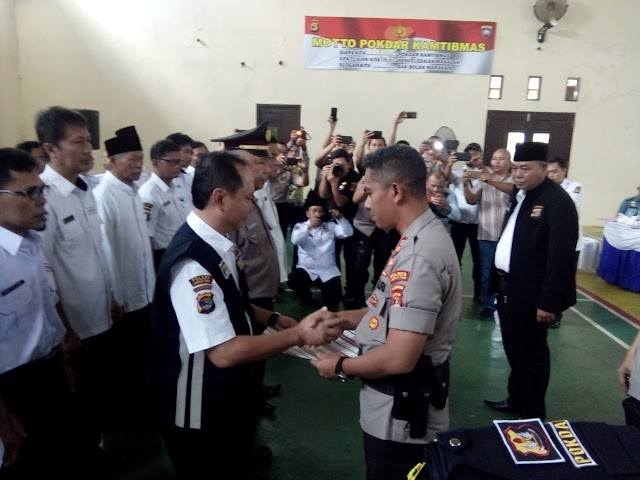 Pokdar Kamtibmas Lampung Utara Terdaftar Keberadaannya