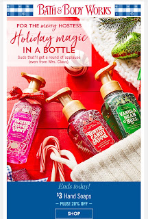 Bath & Body Works | Today's Email - December 6, 2019